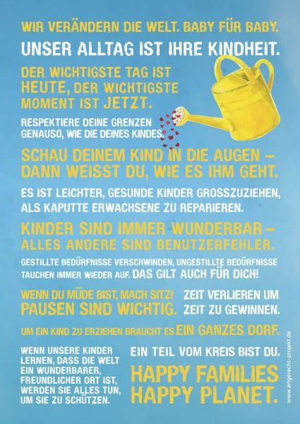 """artgerecht - Poster - """"Farbwelt Sommerhimmel"""" (A3 & A4)"""